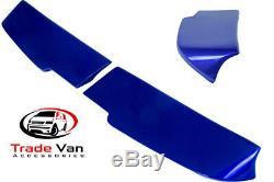 Ford Transit Custom Rear Spoiler Twin Door Deep Impact Blue Spoilers