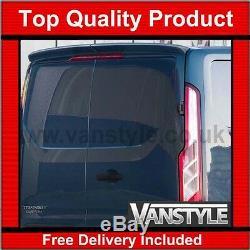 Ford Transit Custom Rear Twin Door Spoiler Premium Pu Rim Not Cheap Fibreglass