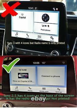 Ford Transit Custom Reversing Reverse Camera Kit Sync2.5 (2019 Onwards)