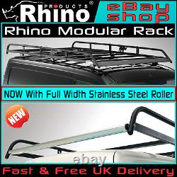 Ford Transit Custom Roof Rack Rhino Modular + Roller SWB-L1 LOW-H1 2013-2020 Van