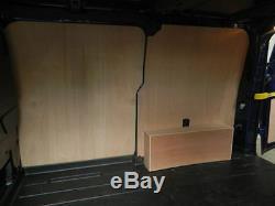 Ford Transit Custom SWB 3 shelved Plywood Racking, Shelving, Racks