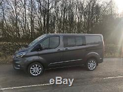 Ford Transit Custom SWB Crew Van 2018/68 Automatic Tailgate 5800 miles