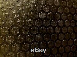 Ford Transit Custom SWB Plywood Van Racking, BLACK Hexaboard finish