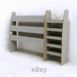 Ford Transit Custom SWB Plywood Van Racking, GREY Hexaboard finish