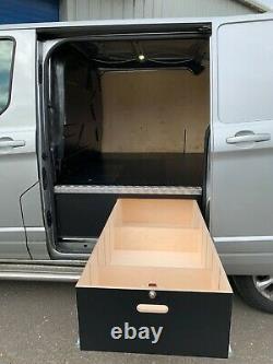Ford Transit Custom SWB drawer unit tool storage vehicle organiser van racking