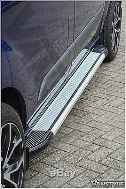 Ford Transit Custom Side Steps Lwb 12-18 Side Bars Running Boards Tourneo Step