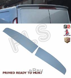 Ford Transit Custom Sportline Front Bumper Lip Spoiler & Barn Door Rear Spoiler