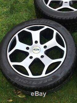Ford Transit Custom St 18 Alloy Wheels 235 35 18 Mk9 Mk8 Mk7 Mk6 Rims Tyres