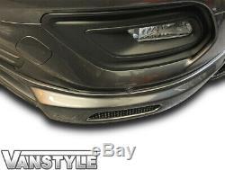 Ford Transit Custom & Tourneo 2018 Lower Front Splitter Spoiler Lip Bumper Van