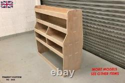 Ford Transit Custom Van Racking Storage Shelving Fits Swb & Lwb