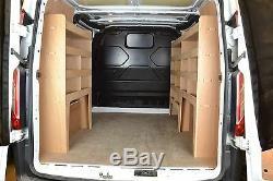 Ford Transit Custom Van Shelving Tool Storage Racking Package WRK47-53-53