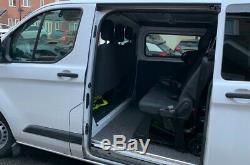 Ford Transit Custom crew cab van