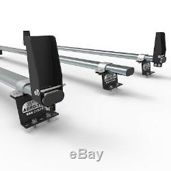 Ford Transit Custom roof rack bars with loadstops + ladder clamps AT86LS+A1