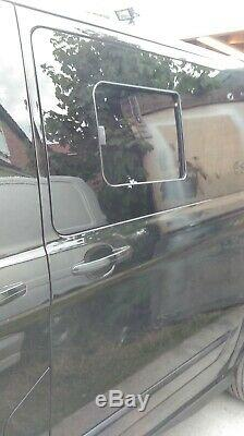 Ford Transit Custom van conversions Pair of windows fitted. South Yorkshire