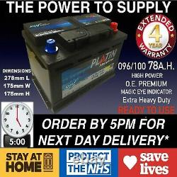 Ford Transit Diesel Car Battery 096 100 12v Heavy Duty Sealed 2.0 2.4 Td Tdci ££