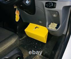 Ford Transit Mk8 Mk9 custom van security pedal lock all models 2014 onwards