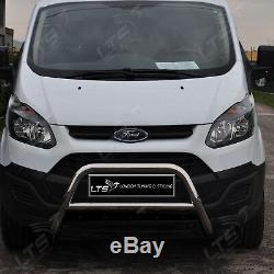 Ford Transit Tourneo Custom Chrome Nudge A-bar Bull Bar 2012 Onwards W K