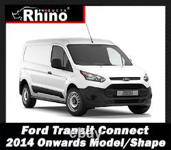 Ford Transit Towbar Rear Step Towing Rhino TowStep Duo BLACK For 2000-2021 Van