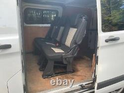 Ford Transit custom 2.2 diesel 6 seater crew cab panel van