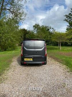 Ford transit custom 290 LIMITED 2.0 TDCI 170 BHP EURO 6 FACTORY CREW CONVERSION