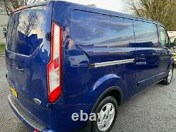 Ford transit custom 290 limited 155ps 2015 L2 NO VAT twin side doors