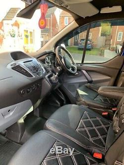 Ford transit custom crew cab cat c no vat