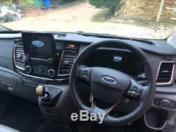 Ford transit custom crew cab lwb