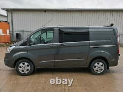 Ford transit custom limited van 290 l1h1 130ps 42000miles top spec magnetic grey