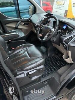 Ford transit custom sport rst top of the range only 54,000 miles fsh rare lwb