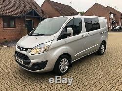 Ford transit custom trend crew van 108k NO VAT