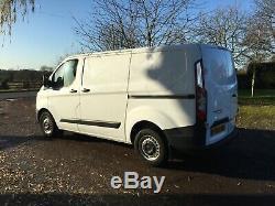 Ford transit custom van white (+vat)