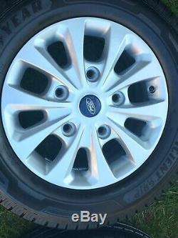 Genuine 16 Ford Transit Custom Mk8 Mk7 Mk6 Alloy Wheels 215 65 16 Tyres Limited