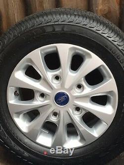 Genuine 16 Ford Transit Custom Mk9 Mk8 Mk7 Limited Alloy Wheels Tourneo Tyres