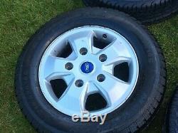 Genuine 16 Ford Transit Custom Mk9 Mk8 Mk7 Limited Alloy Wheels Tyres Rims