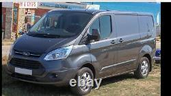 Genuine 4 X Ford Transit custom limited MK8 MK7 Alloy Wheels Commercial Tyres