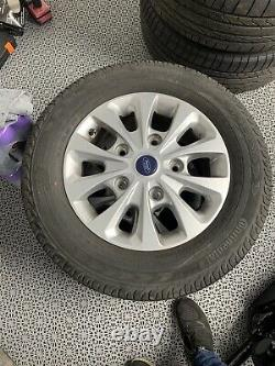 Genuine Ford Transit Custom Limited 16 Alloy Wheels with Continental Tyres