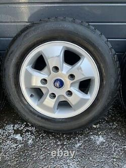 Genuine Ford Transit Custom Limited 16 Alloy Wheels with Tyres