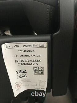Genuine Ford Transit Custom Quick Release Triple Second Row Seats VW Transporter