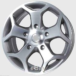 GunMetal Alloy Wheels ONLY Ford Transit Custom Sport St Van Rated 1250Kg