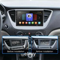 HD 8 Android 8.1 Single DIN Dash Car Radio Stereo GPS Head Unit SAT NAV WiFi FM