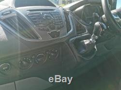 L2 H1 ford transit custom limited black