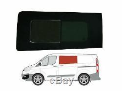 Left Hand Side Sliding Door Opening Dark Tint Window for Ford Transit Custom