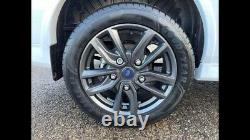 NEW MAGNETIC 2021 4 x 18 GENUINE FORD TRANSIT CUSTOM SPORT ALLOY WHEELS TYRES