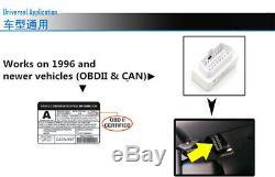 OBD2 Bluetooth Connection Dash Race Display Dashboard LCD Screen Digital Gauge