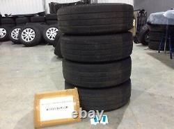 SET of X4 FORD TRANSIT CUSTOM ALLOY WHEELS WITH TYRES 16 INCH (SET REF 17)