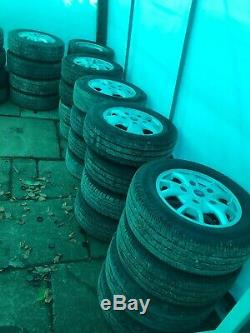 Set Of 4 Ford Transit Custom New Shape 16 Alloy Wheel And Tyres
