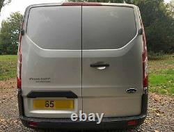 Silver FORD TRANSIT CUSTOM 290 TREND E-TEC Panel Van (SWB)