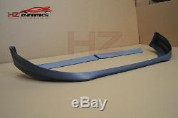 Sport Type Plastic Front Lip + Twin Roof Spoiler FOR Ford Transit Custom 2013 17