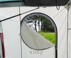 Tailgate REAR TENT campervan Ford Transit CUSTOM 2015 on easy set up