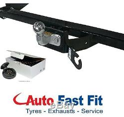 Tow bar for Ford Transit Custom 2012 on with ByPass Relay Wiring Kit Complete 7P